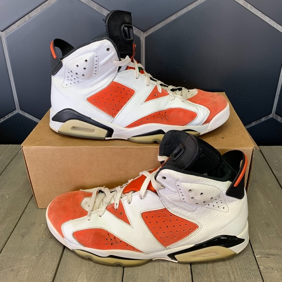 pretty nice 93abc c3ef9 Used Air Jordan Retro 6 Gatorade Shoe Size 10